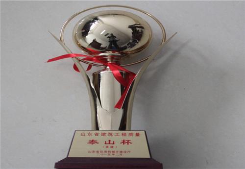 山东建筑工程质量最高奖泰山杯奖