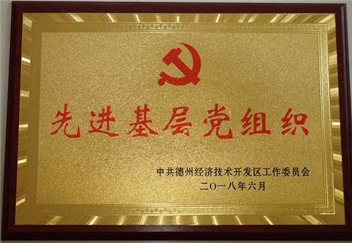 """集团党委获""""先进基层党组织""""荣誉称号"""