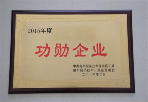 2015年度功勋企业